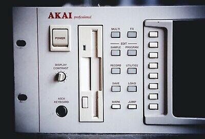 Akai S5000 Sampler with SCSI CD-ROM drive. Good condition.