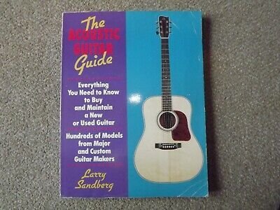 The Acoustic Guitar Guide Buying and Maintaining  1991 Sandberg Luthier
