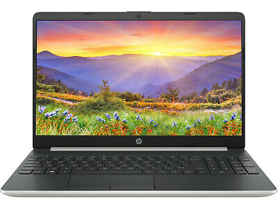 "NEW HP 15.6"" HD Intel i3-1005G1 3.4GHz 8GB RAM 1TB HDD Webcam BT Win 10 Laptop"
