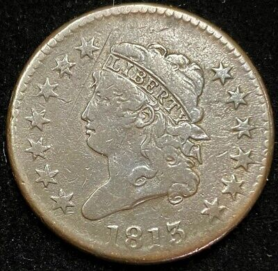 1813 Classic Head Large Cent.