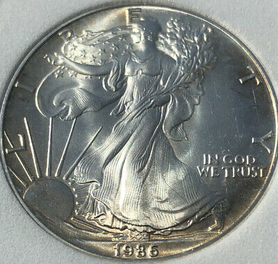 1986 $1 American Silver Eagle Dollar ⭐️First year Of Issue⭐️🦅🦅🦅