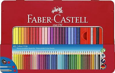 Faber-Castell Hexagonal Colouring Pencils in Gift Tin - 48 Assorted Colours