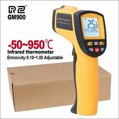 RZ Infrared Thermometer Non-Contact Temperature Meter Gun Handheld Digital LCD