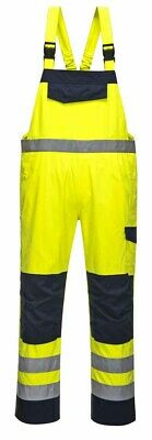 Portwest - Hi Vis MODAFLAME Bib and Brace