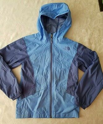 The North Face Resolve Dry Vent Lightweight Raincoat Jacket Cagoule Blue Size M
