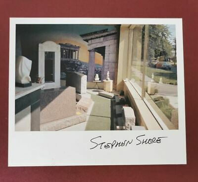 Stephen Shore - signed print +  Book Transparencies. Small Camera Works