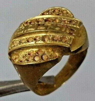 Ancient Rare Ring Bronze Legionary Roman Old Authentic Artifact