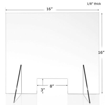 Sneeze Guard, Acrylic, Plexiglass Barrier, protection, Office, Counter, Retail
