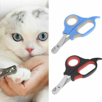 Pet Dog Cat Toe Care Nail Cutter Clippers Scissors Shear Grooming Trimmer Thumb