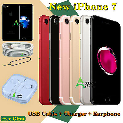 NEW Mobile Smartphone Apple iPhone 7 256GB 128GB 32GB Unlocked All Colors UK