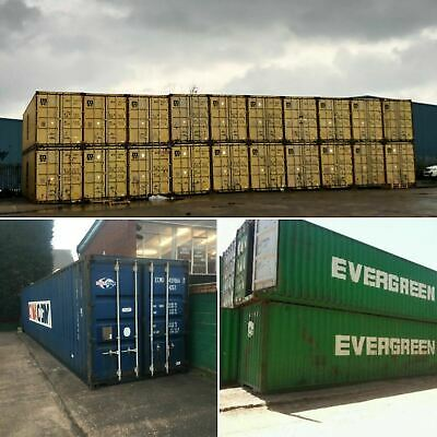 40ft Used Wind and  Watertight Shipping Containers ** Baltimore ** Best Price!
