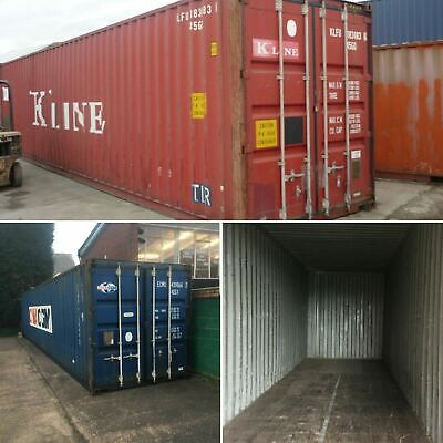 20ft & 40ft Used Wind & Watertight Shipping Containers ** Mobile ** Best Price!