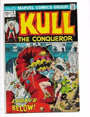 Kull the Conqueror #6 & 29 Bronze Age Marvel Series I combine Shipping