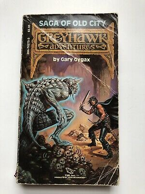 Greyhawk Adventures Saga of Old City by Gary Gygax Dungeons & Dragons Paperback