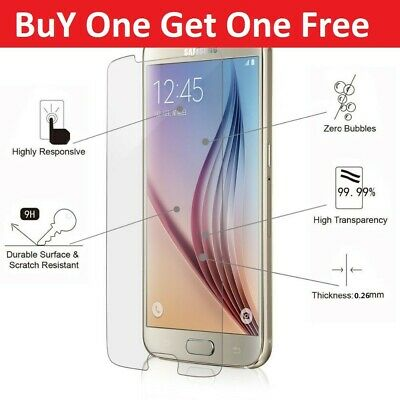 Tempered Glass Screen Protector Film For Samsung Galaxy A3 A5 J3 J4 J5 J6 S6