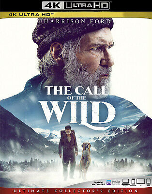 The Call of the Wild (4K Ultra HD Blu-ray, 2020) - Please Read