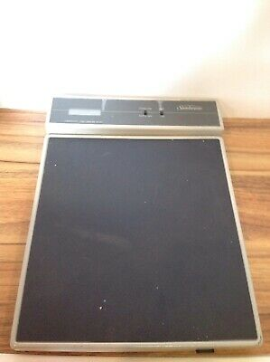 Sunbeam Freight Shipping Scale Capacity 100lb Electronic R9