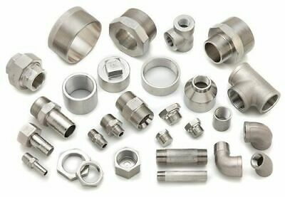 "BSP Pipe Fittings Stainless Steel 316 150lb Screwed Threaded 1/8"" - 4"""