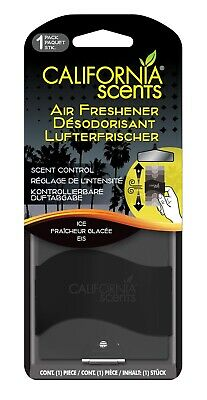 California Scents Paper Car Air Freshener - Ice