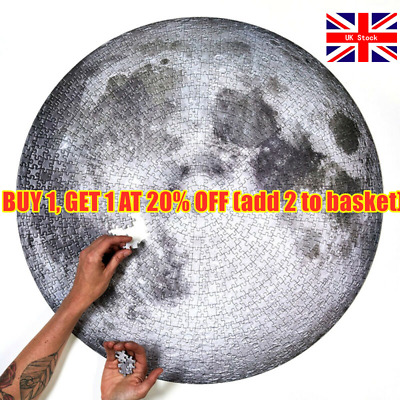 1000 Pieces The Moon Puzzle Jigsaw Puzzle Kids Adult Planets Maps Jigsaw Puzzle