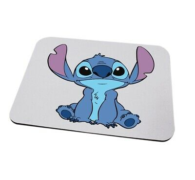 Stitch mousemat can be personalised