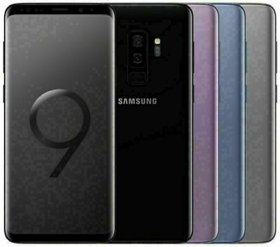 "Samsung Galaxy S9 Plus G965U64GB  6.2"" Octa Core Unlocked 4G Smartphone Mobile"