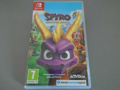 Spyro Reignited Trilogy  Nintendo Switch  3 dragon adventures