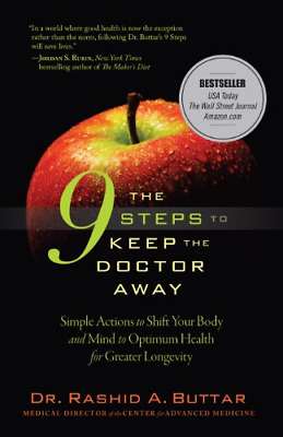 The 9 Steps to Keep the Doctor Away by Rashid A Buttar -- INSTANT EMAIL DOWNLOAD