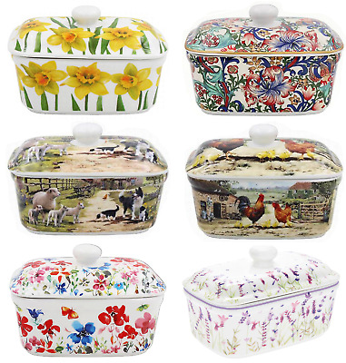 Leonardo Collection Fine China Butter Dish Dishes Gift Boxed