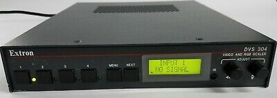 Extron DVS 304 Video and RGB Scaler
