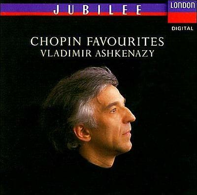 Chopin Favourites Audio CD ASHKENAZY,VLADIMIR; CHOPIN,FREDERIC [Composer]