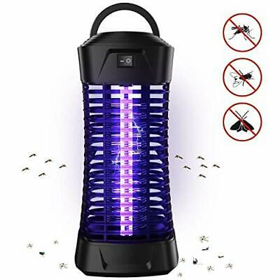 Loowoko Insect Killer, Mosquito Lamp UV Insect Bug Zapper Catcher Fly Trap