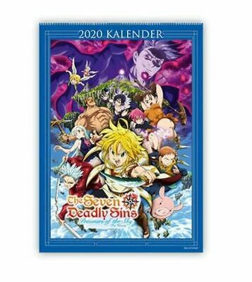 The Seven Deadly Sins - Prisoners of The Sky - Wandkalender 2020 (Anime/Manga)