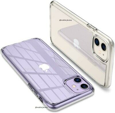 Case For iPhone SE 2 11 XR XS MAX X 8 7 6 Plus Shockproof Silicone Clear Cover