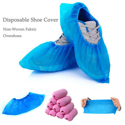Non-woven Fabric Elastic Disposable Shoe Covers Dustproof Boot Covers Overshoes
