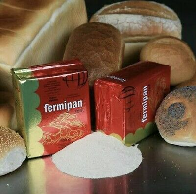 Fermipan Red 50g Instant Dried Yeast  Bread Baking Yeast Bakers Bread Making
