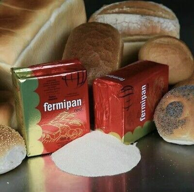 Fermipan Red Instant Dried Yeast - 50g - Baking Bread Making Dough Catering