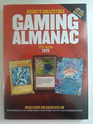 2020 10th Edition Beckett Gaming Card Price Guide NEW $29.95 Cover MTG Pokemon
