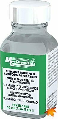 MG Chemicals 422B Silicone Modified Conformal Coating, 55 ml Bottle