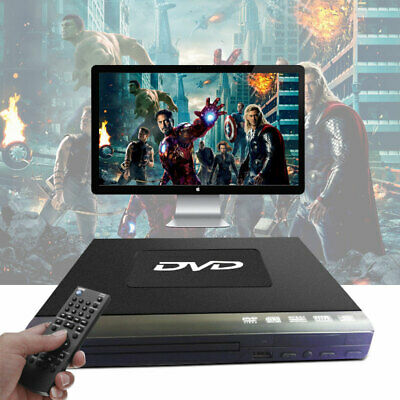 Compact DVD Player Upscaling USB Multi Region Connect DVD to your TV