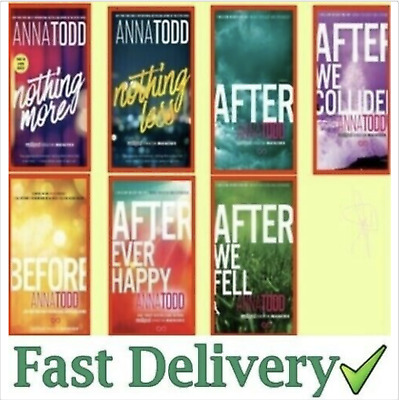 After Serie Complete Set (Book 1-7) by Anna Todd
