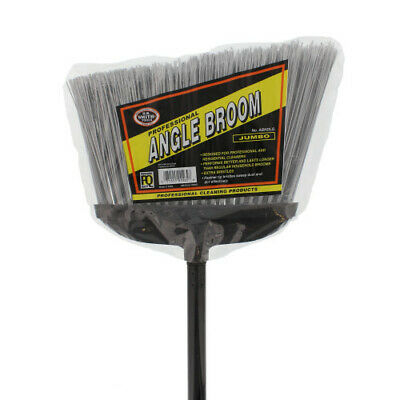 "H.B. Smith 57"" Jumbo Heavy Duty Professional Angle Broom"
