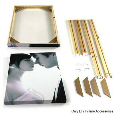 Pro Canvas Painting Stretcher Bars Frames Wooden Strip Kits for Oil Painting Art