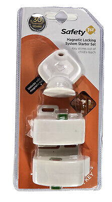 Safety 1st Magnetic Locking System Starter Set Childproof Cabinets Drawers NEW