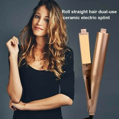HAIR STRAIGHTENER ELECTRIC Ceramic 2 in 1 Mestar Iron Pro