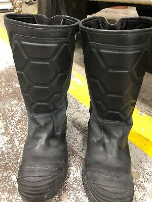 Black Diamond Leather Fire Fighter Turn Out Boot Size 12 Lightly Used. New 2019