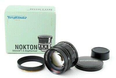 Excellent+5 Voigtlander Nokton 50mm f/1.5 MF for Leica LTM L39 From Japan #15