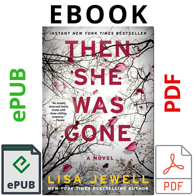 then she was gone a novel by lisa jewell 🔥 Fast Shipping 🔥 (P.D.F - E_pub ) ✔️