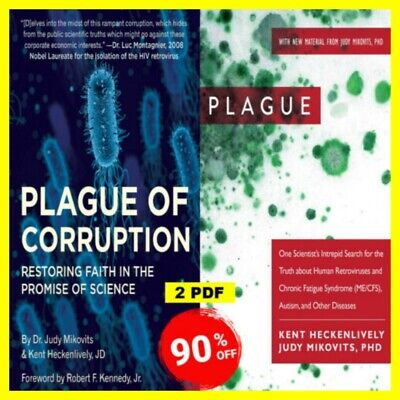 Plague of corruption By Kent Heckenlively 🔰 Judy Mikovits ✔️ (2020, digital)✔️✅