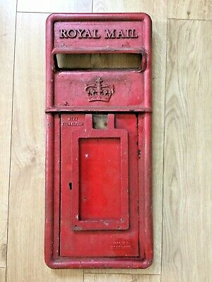 Genuine Scottish Cast Iron Post Box Front Royal Mail Machan Scotland Original